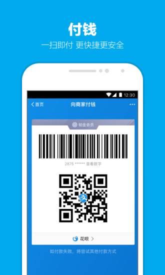 支付宝国际版app截图