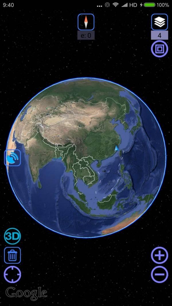3d地图卫星地图高清手机版截图