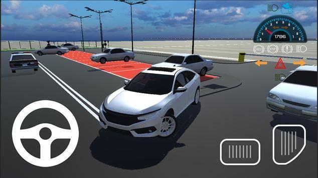 本田思域停车模拟器2021截图