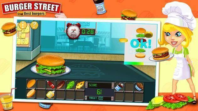 烹饪汉堡咖啡馆模拟器截图