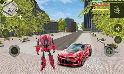 机器人变形汽车