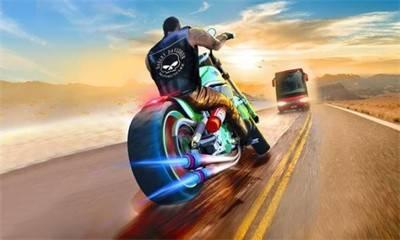 重型摩托竞赛截图