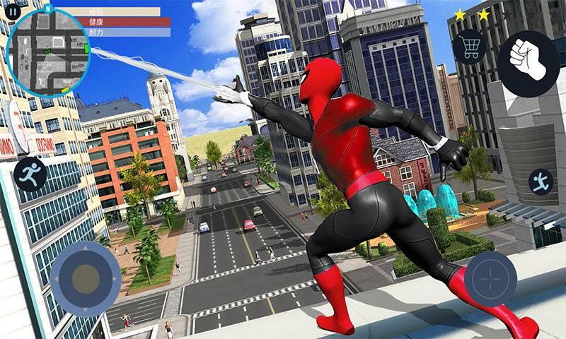 蜘蛛飞索勇士截图