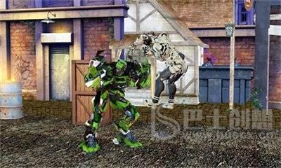 科幻机器人格斗