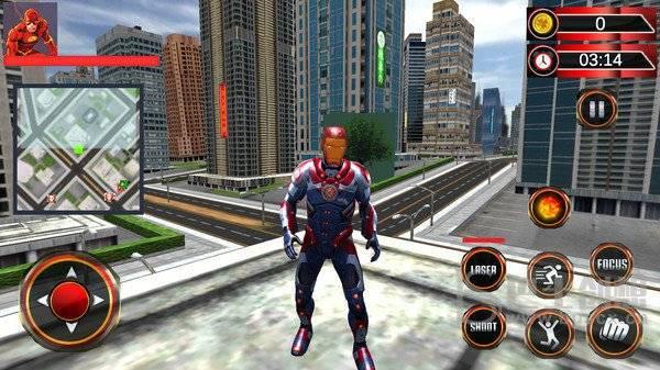 超级英雄强势出击