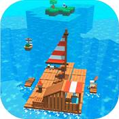 海上木筏求生存