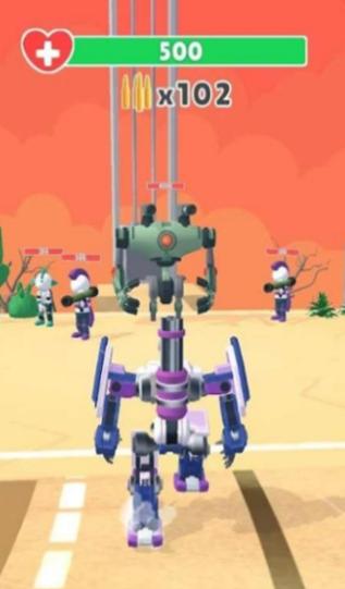 机器人跑酷射击截图