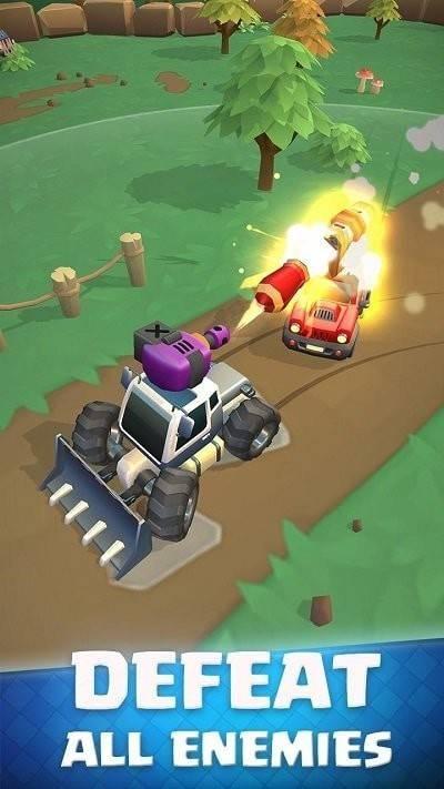 坦克碰撞竞技场截图