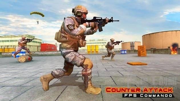 突击队反击FPS射击