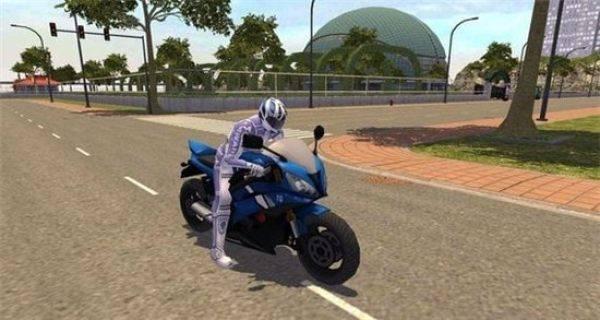 摩托车城市赛车手截图