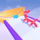 气球亚军奔跑