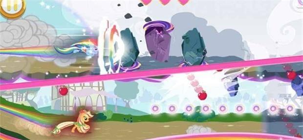 小马宝莉彩虹跑将截图