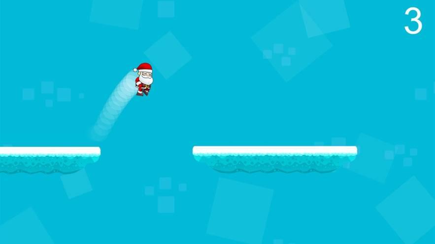 圣诞老人在路上截图