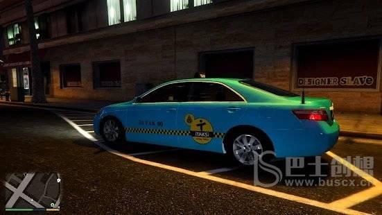 卢森堡绿松石城出租车