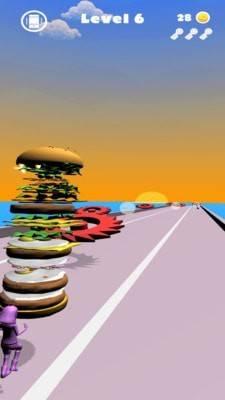 画个汉堡包快跑截图