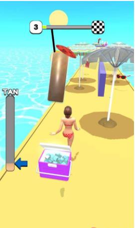 沙滩女神酷走截图