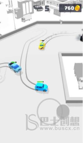 小车撞毁竞技场