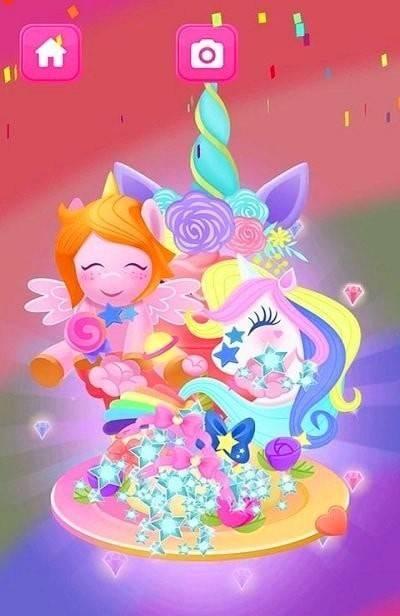 魔法公主做蛋糕