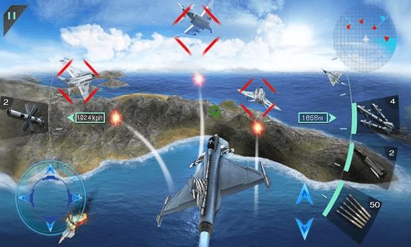 海陆空之战截图
