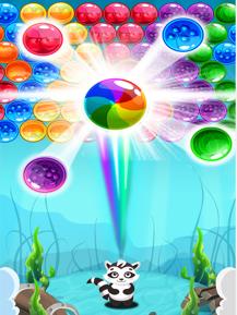 泡泡射击益智游戏
