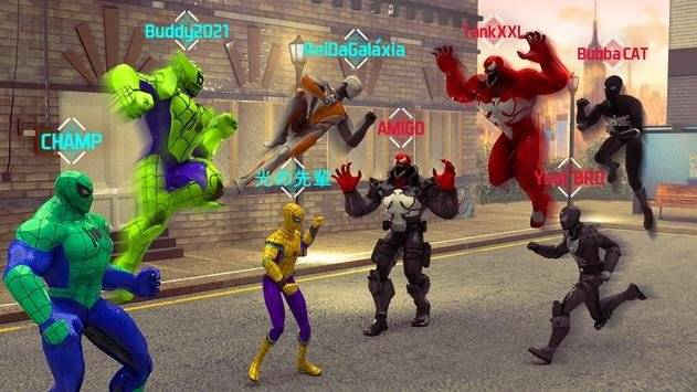 蜘蛛超级英雄飞模拟器截图