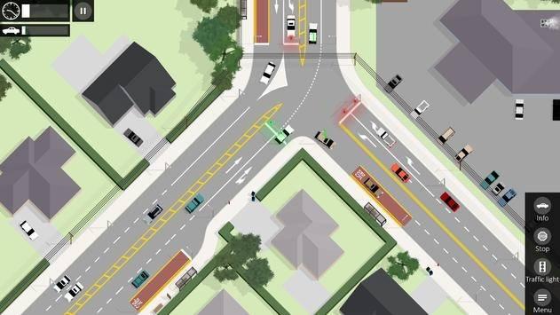 路口控制器截图