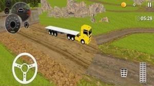 卡车越野司机