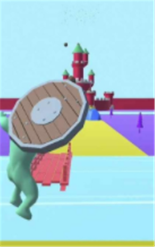 巨人英雄摧毁城堡截图