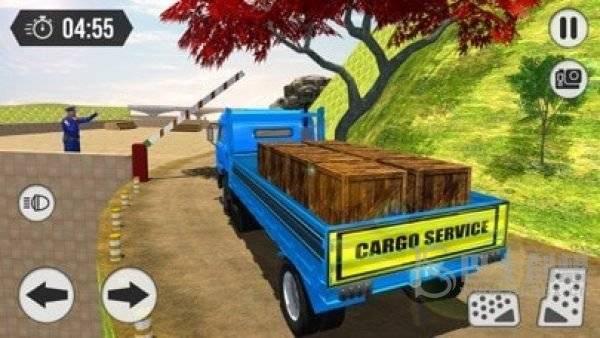 货物卡车运输司机