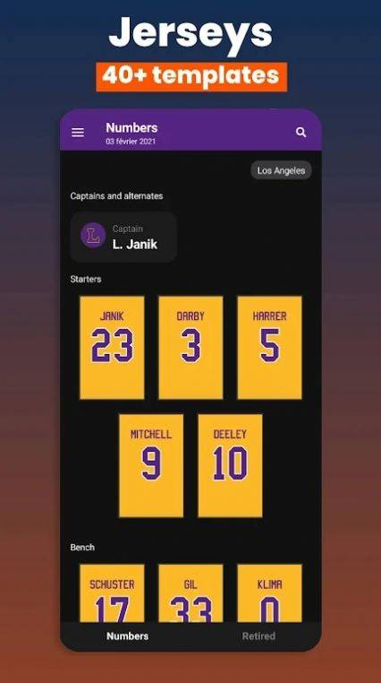 篮球遗产经理22截图