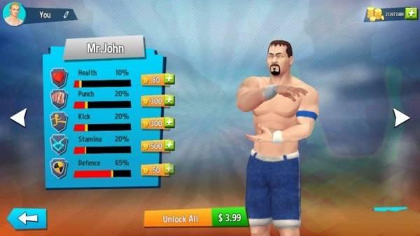 擂台对决摔跤大师截图