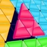 阻止三角拼图