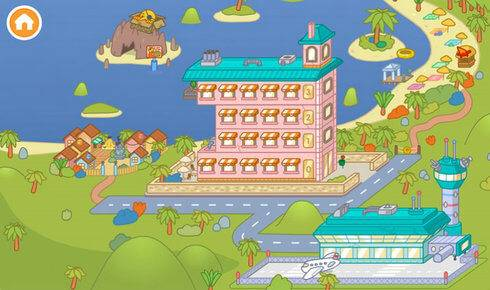 托卡世界假期小镇截图