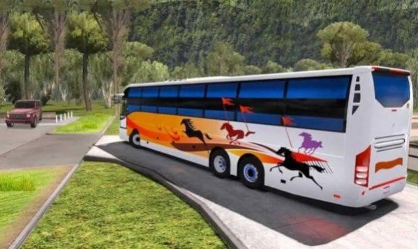 巴士司机山地驾驶截图