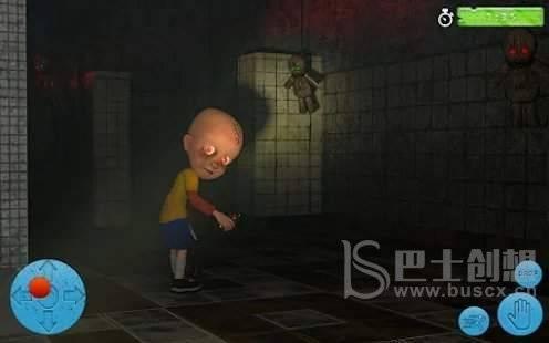黑暗房子里的婴儿