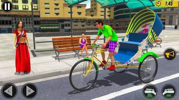 自行人力车截图