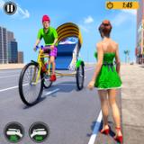 自行人力车