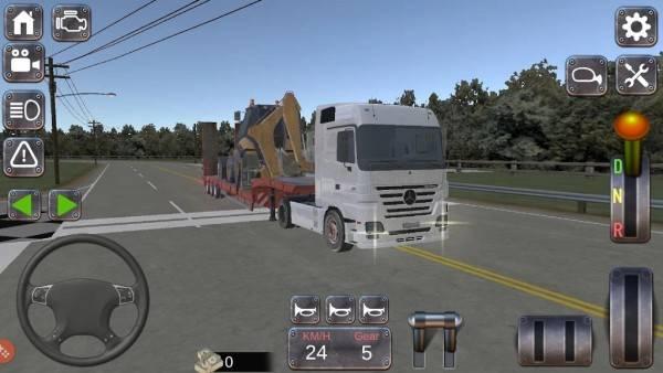 真正的卡车模拟器