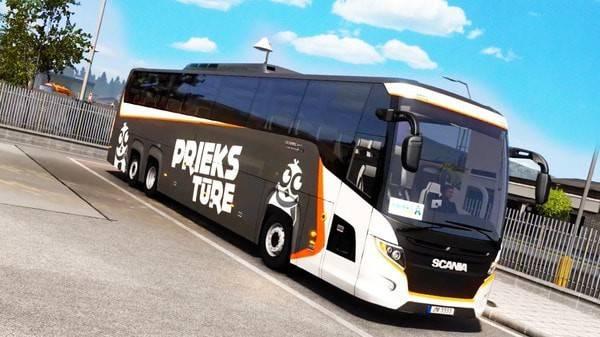 巴士驾驶移动模拟器截图