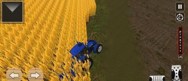 拖拉机耕作模拟截图