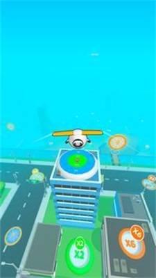 空中滑翔飞行截图