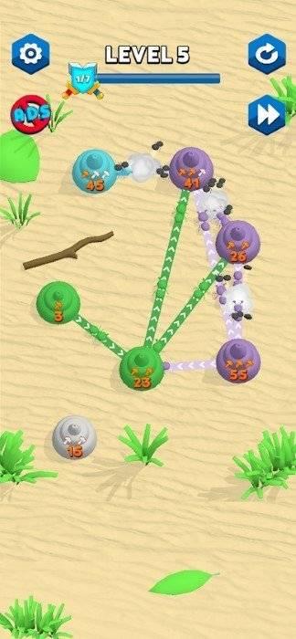 蚂蚁反击截图