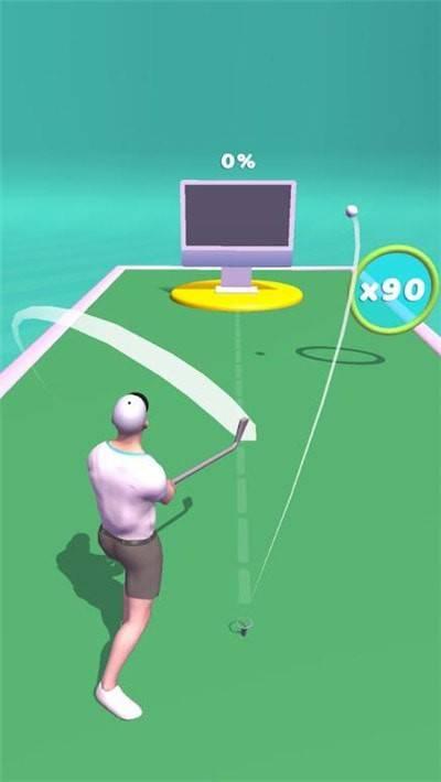 高尔夫球射击截图