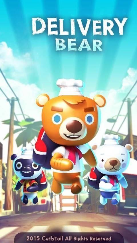 小熊外卖员截图