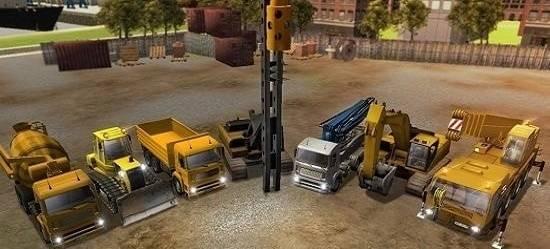 城市建筑卡车司机3d