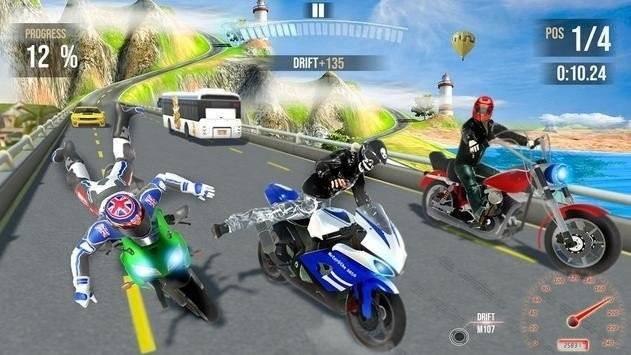 极限城市摩托竞赛截图