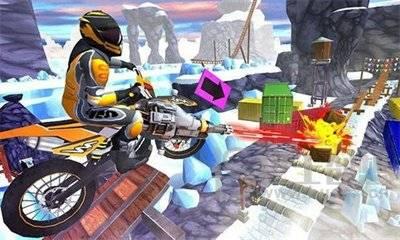 摩托车特技赛车