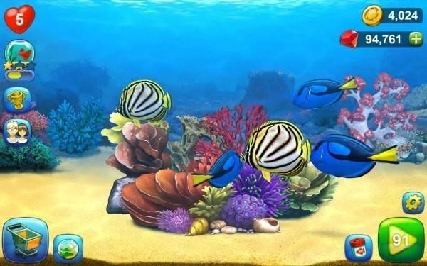 海底世界消除