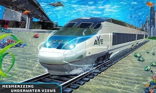 水下子弹头火车截图
