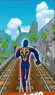 超级蜘蛛奔跑截图